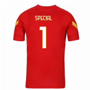 2020-2021 AS Roma Nike Training Shirt (Red) (Special 1)