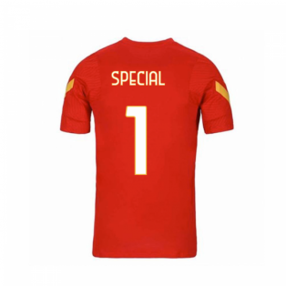2020-2021 AS Roma Nike Training Shirt (Red) - Kids (Special 1)