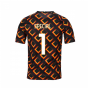 2020-2021 AS Roma Nike Pre-Match Training Jersey (Black) (Special 1)