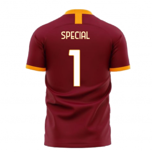 Roma 2020-2021 Home Concept Football Kit (Libero) - No Sponsor (Special 1)