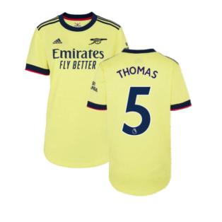 Arsenal 2021-2022 Away Shirt (Ladies) (Thomas 5)