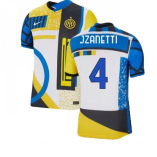 2021-2022 Inter Milan Vapor 4th Shirt (J ZANETTI 4)