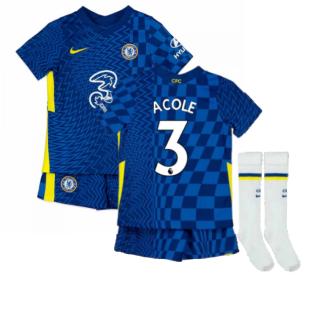 2021-2022 Chelsea Little Boys Home Mini Kit (A COLE 3)