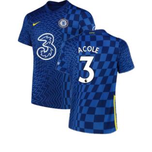 2021-2022 Chelsea Home Shirt (A COLE 3)