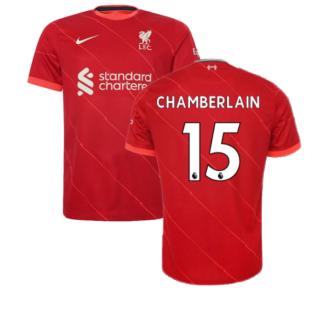 Liverpool 2021-2022 Home Shirt (CHAMBERLAIN 15)