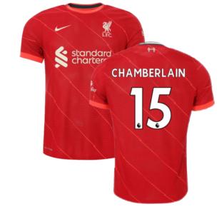 Liverpool 2021-2022 Vapor Home Shirt (Kids) (CHAMBERLAIN 15)