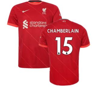Liverpool 2021-2022 Home Shirt (Kids) (CHAMBERLAIN 15)