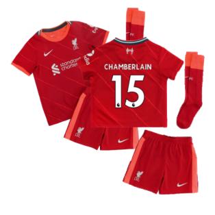 Liverpool 2021-2022 Home Little Boys Mini Kit (CHAMBERLAIN 15)