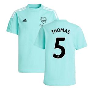 Arsenal 2021-2022 Training Tee (Acid Mint) (Thomas 5)