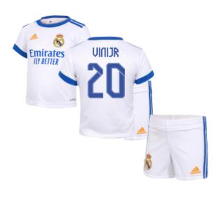 Real Madrid 2021-2022 Home Baby Kit (VINI JR 20)