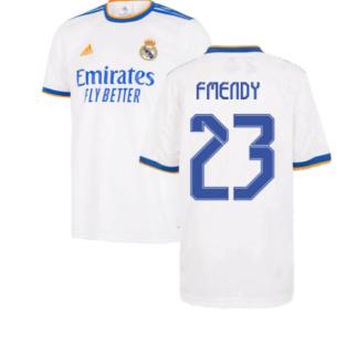 Real Madrid 2021-2022 Home Shirt (Kids) (F MENDY 23)