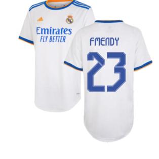Real Madrid 2021-2022 Womens Home Shirt (F MENDY 23)