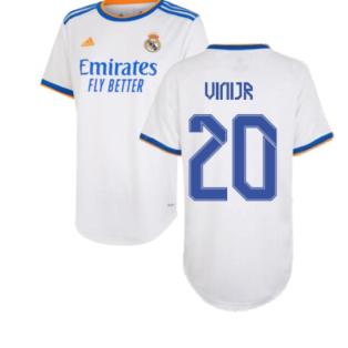 Real Madrid 2021-2022 Womens Home Shirt (VINI JR 20)