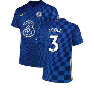 2021-2022 Chelsea Home Shirt (Kids) (A COLE 3)