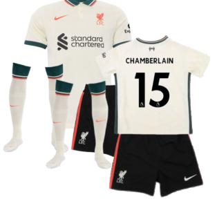 Liverpool 2021-2022 Away Little Boys Mini Kit (CHAMBERLAIN 15)
