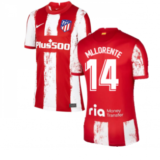 2021-2022 Atletico Madrid Home Shirt (Kids) (M LLORENTE 14)