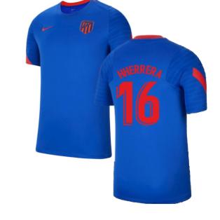 2021-2022 Atletico Madrid Training Shirt (Blue) (H HERRERA 16)
