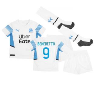 2021-2022 Marseille Home Mini Kit (BENEDETTO 9)