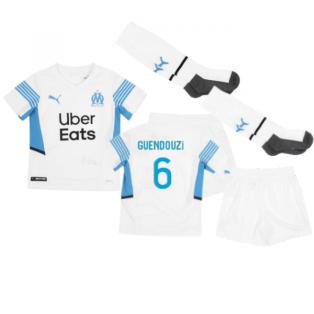 2021-2022 Marseille Home Mini Kit (GUENDOUZI 6)