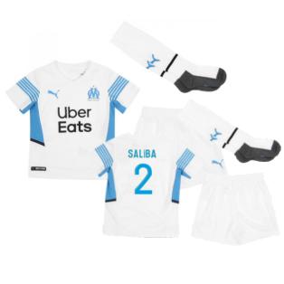 2021-2022 Marseille Home Mini Kit (SALIBA 2)