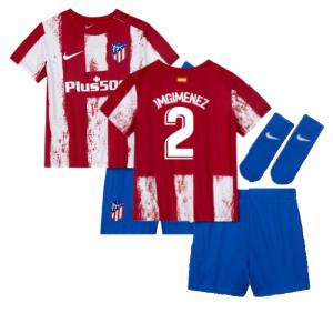 2021-2022 Atletico Madrid Infants Kit (J M GIMENEZ 2)