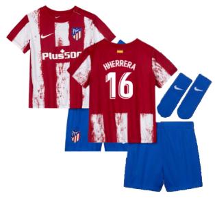 2021-2022 Atletico Madrid Infants Kit (H HERRERA 16)