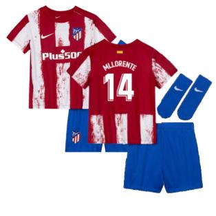 2021-2022 Atletico Madrid Infants Kit (M LLORENTE 14)