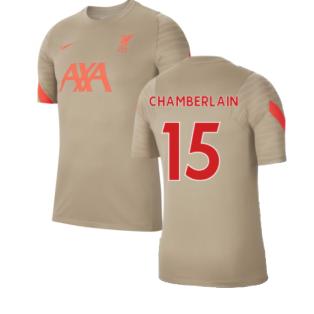 Liverpool 2021-2022 Training Shirt (Mystic Stone) (CHAMBERLAIN 15)