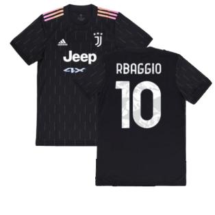 2021-2022 Juventus Away Shirt (R BAGGIO 10)