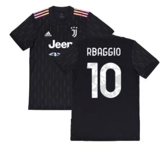 2021-2022 Juventus Away Shirt (Kids) (R BAGGIO 10)