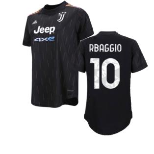 2021-2022 Juventus Away Shirt (Ladies) (R BAGGIO 10)