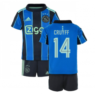 2021-2022 AJAX AWAY BABY KIT (CRUYFF 14)