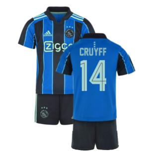 2021-2022 Ajax Away Mini Kit (CRUYFF 14)