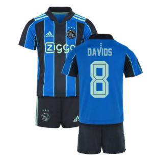 2021-2022 Ajax Away Mini Kit (DAVIDS 8)