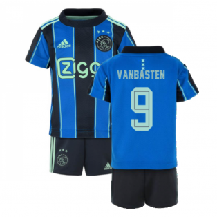 2021-2022 AJAX AWAY BABY KIT (VAN BASTEN 9)