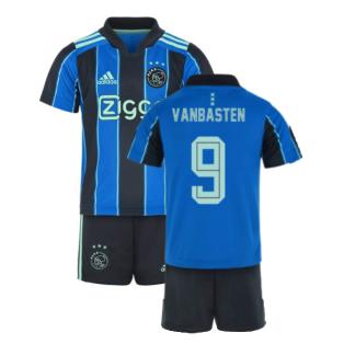 2021-2022 Ajax Away Mini Kit (VAN BASTEN 9)
