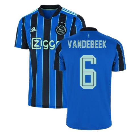 2021-2022 Ajax Away Shirt (VAN DE BEEK 6)