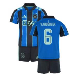 2021-2022 Ajax Away Mini Kit (VAN DE BEEK 6)