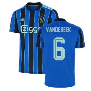 2021-2022 Ajax Away Shirt (Kids) (VAN DE BEEK 6)