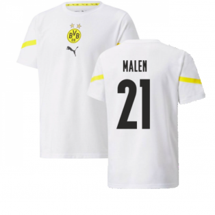 2021-2022 Borussia Dortmund Pre Match Shirt (Kids) (MALEN 21)