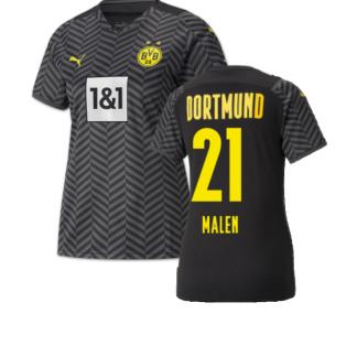 2021-2022 Borussia Dortmund Away Shirt (Ladies) (MALEN 21)