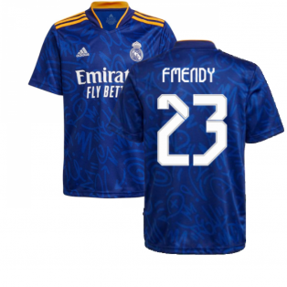 Real Madrid 2021-2022 Away Shirt (Kids) (F MENDY 23)