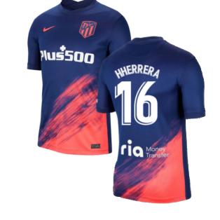 2021-2022 Atletico Madrid Away Shirt (H HERRERA 16)