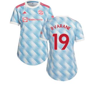 Man Utd 2021-2022 Away Shirt (Ladies) (R VARANE 19)