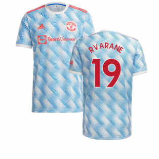 Man Utd 2021-2022 Away Shirt (Kids) (R VARANE 19)
