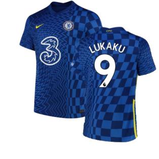 2021-2022 Chelsea Home Shirt (Kids) (LUKAKU 9)