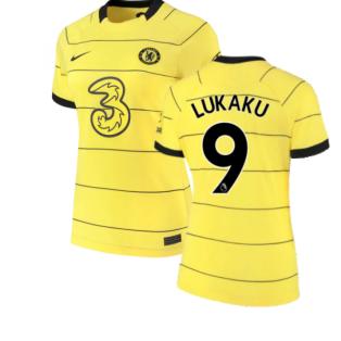 2021-2022 Chelsea Womens Away Shirt (LUKAKU 9)