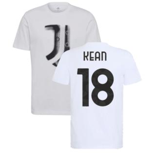 2021-2022 Juventus Training T-Shirt (White) (KEAN 18)