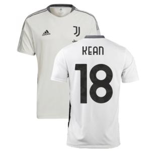 2021-2022 Juventus Training Shirt (White) (KEAN 18)