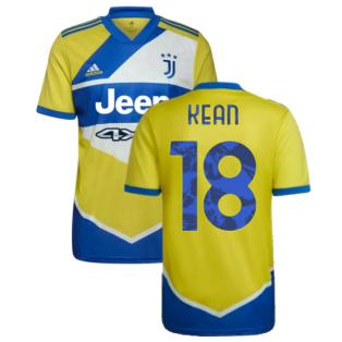 2021-2022 Juventus Third Shirt (KEAN 18)